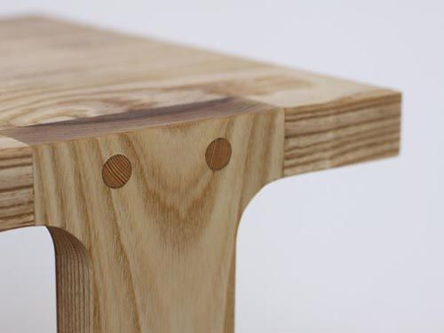 nice old dowel joint