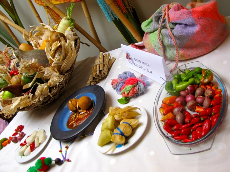 Nombre plato: Pastores de Mar. Grupo Minka. Premio Nacional de Gastronomía. Crédito Milton Ramírez (@FOTOMILTON) MinCultura 2012.