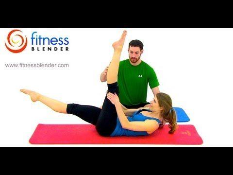 Leg Slimming Pilates Butt and Thigh Workout - 32 Minute Free Online Pilates Class, Fitness Blender