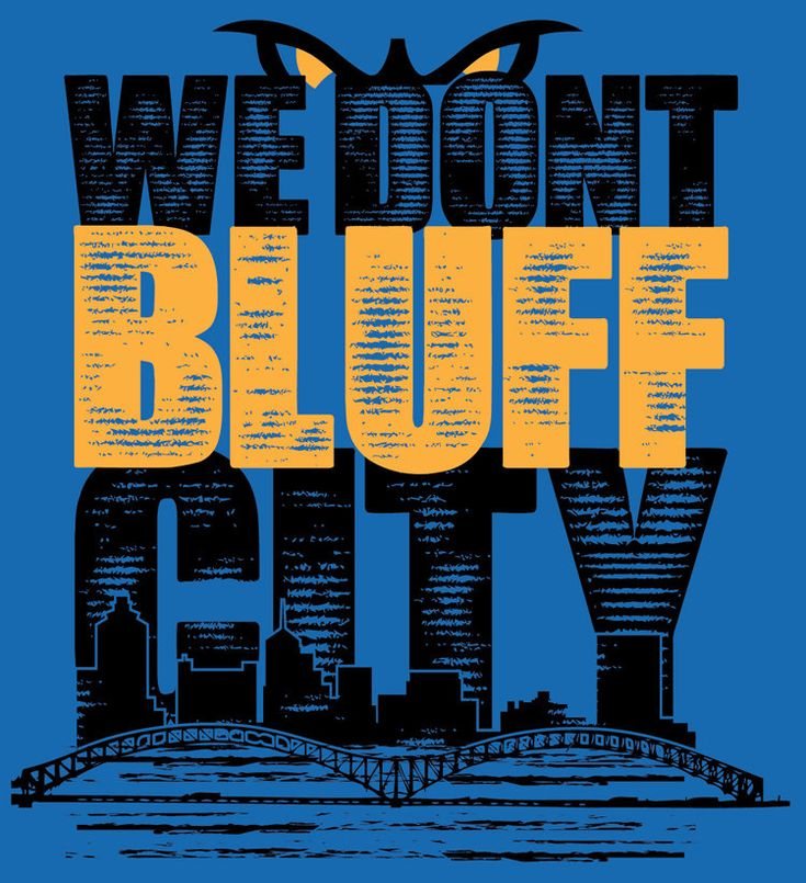 We Don't Bluff City by Memphicity