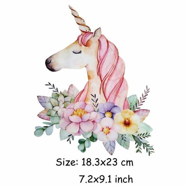 unicorn patch heat transfer diy craft in 2019 tattoos. Black Bedroom Furniture Sets. Home Design Ideas