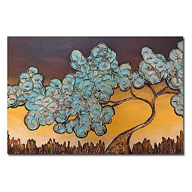 A Big Tree Oil Painting Free Shipping