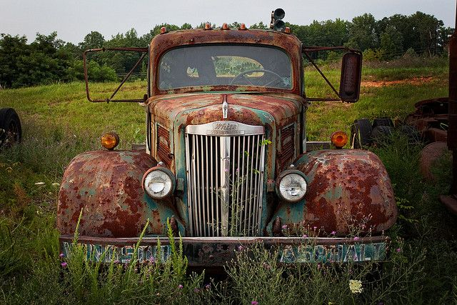 Rusty Old Truck   Flickr - Photo Sharing!