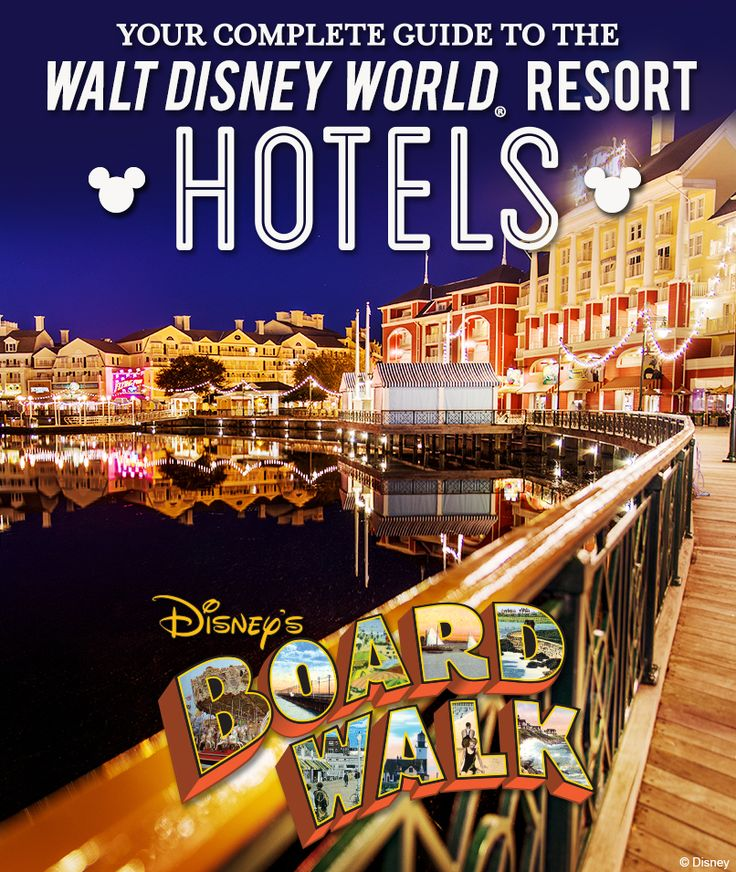 Your complete guide to the Walt Disney World Resort hotels: Disney's Boardwalk Inn