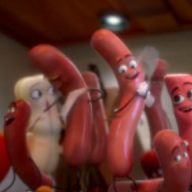 """Seth Rogen's New Movie """"Sausage Party"""" Is What Happens When You Get High And Write a Movie About Food"""