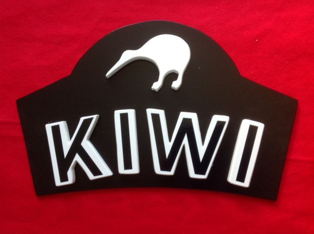 One for the Kiwi Friends. Size is around 450mm wide with the wording creating a 3D Look - $49.50 FREE Postage