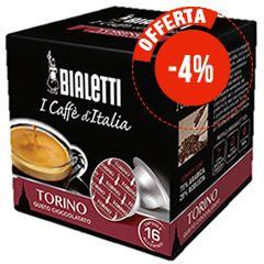 16 CAPSULE BIALETTI I CAFFÈ D'ITALIA TORINO