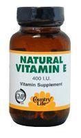Natural Vitamin E - Discount Country Life Natural Vitamin E #F4F #vitaminD #vitaminC #followback #F4F #vitamins