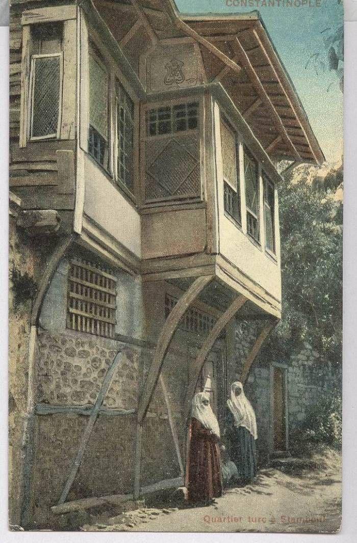 :::: ♡ ♤ ✿⊱╮☼ ☾ PINTEREST.COM christiancross ☀❤•♥•*[†]⁂ ⦿ ⥾ ⦿ ⁂  ::::Eski İstanbul Evleri/TÜRKİYE