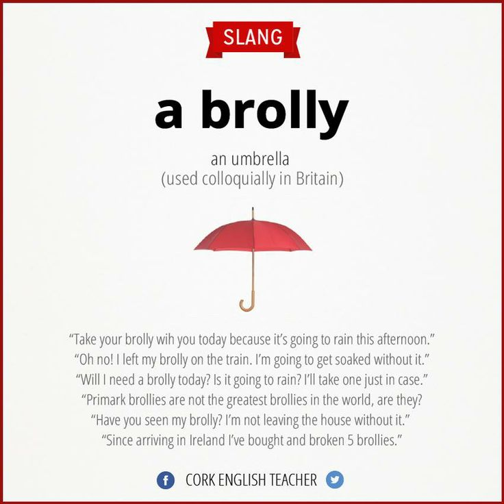 a brolly