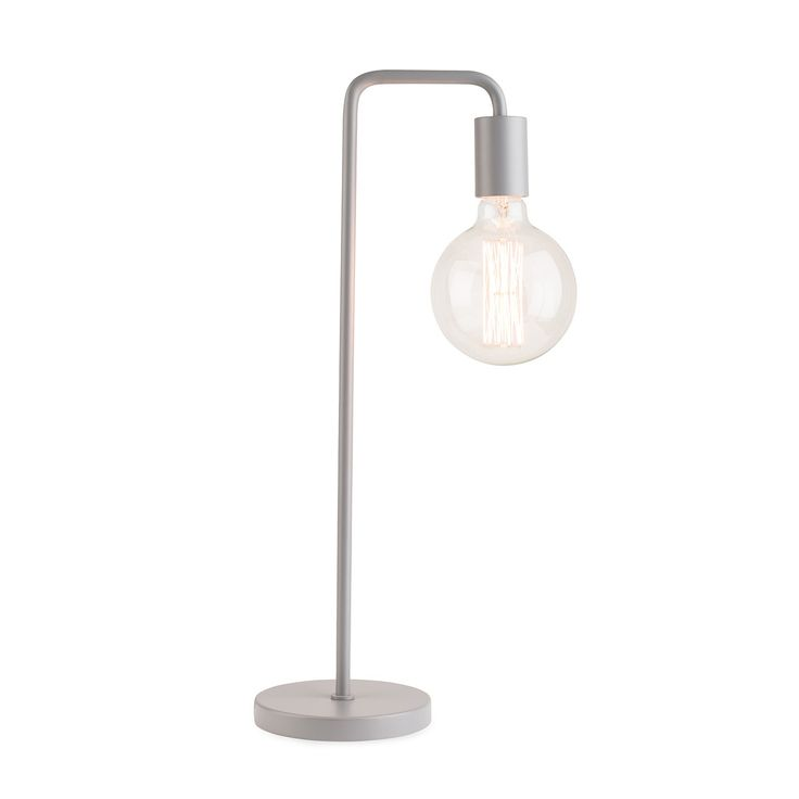 Providing the perfect contemporary industrial look the junction table lamp gives bauhaus era tubular
