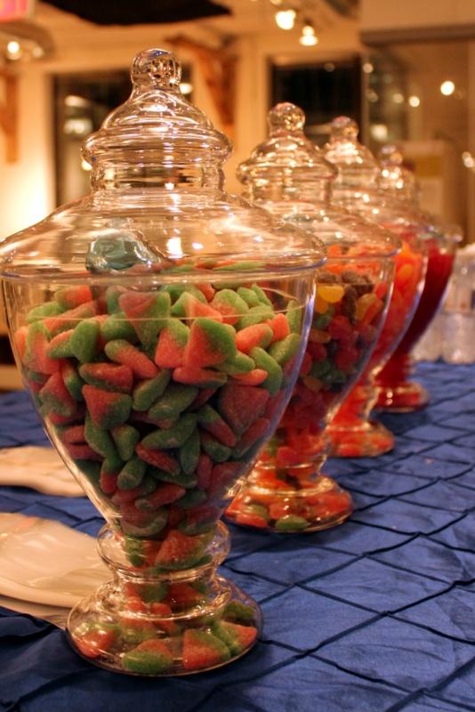 Candy bar courtesy of Starfish Creative Events & Inspiration!