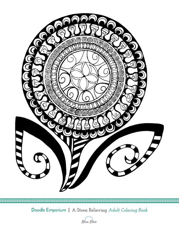 Heres Another Free Adult Coloring Book Page From