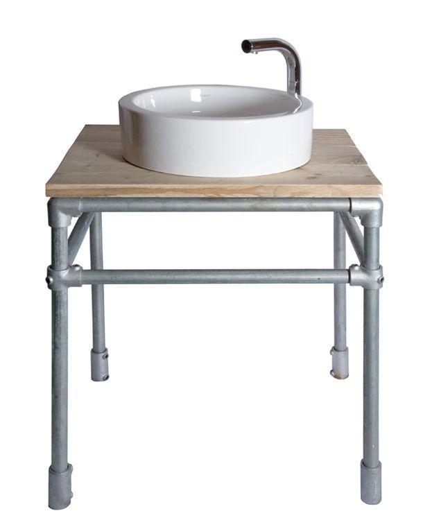 USAME - Consola de baño Andamios http://usame.es/es/category/andamios-mobiliario/