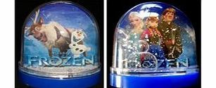 Innovation Design Disney Frozen Snow Globe Anna Elsa Girls NEW One Frozen Snow Globe Disney - Anna, Elsa, Olaf, Sven amp