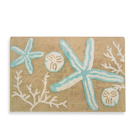 Tremiti Starfish Bath Rug: Bath Rugs, Tremiti Starfish, Homemade Bath, Kids Bathroom, Bedbathandbeyond Com, Starfish Bathrug, Bathroom Ideas, Beaches Bathroom, Chevron Rugs