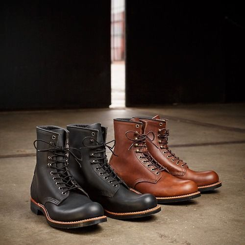 Introducing the Red Wing Harvester, 8in lace up with speed hooks and a Vibram lug sole. Fall now has an official boot.
