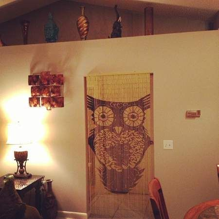 17 best images about love earthbound on pinterest for Hand painted bamboo beaded curtains