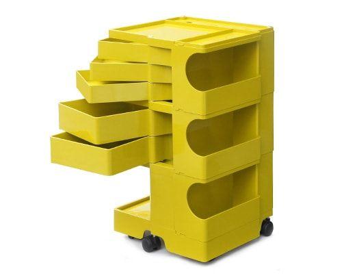 【流通限定】ボビーワゴン マスタードイエロー│名作デザイナーズ家具 インテリア雑貨の通販 METROCS(メトロクス)