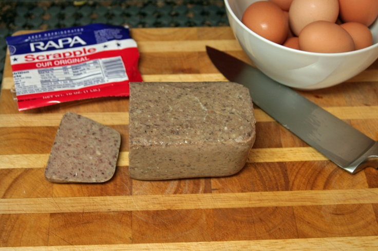 Scrapple! | Delmarva is where I was born and raised | Pinterest