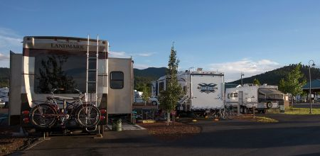 Grand Canyon Railway RV Park $40 a night - access to train, full hook up, pool