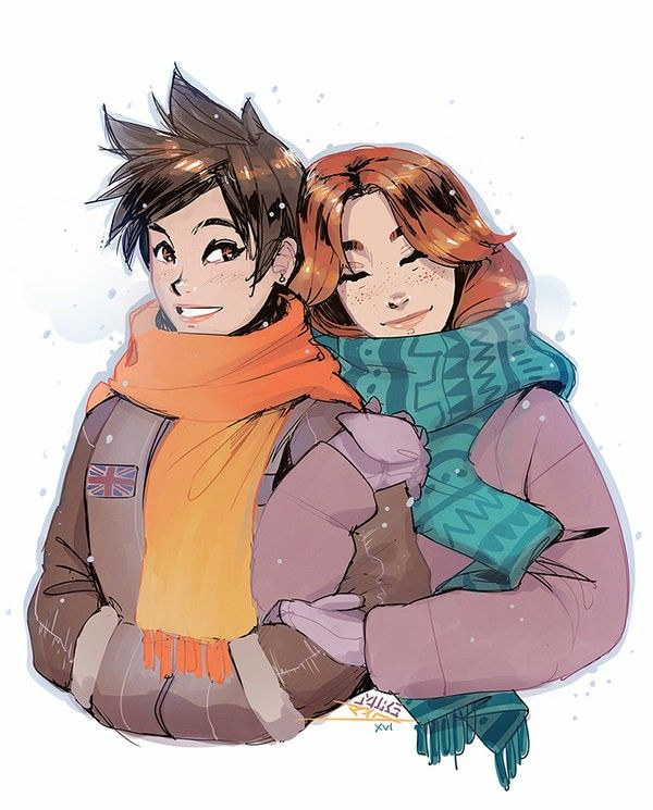 Overwatch - Tracer and her lovely Girlfriend