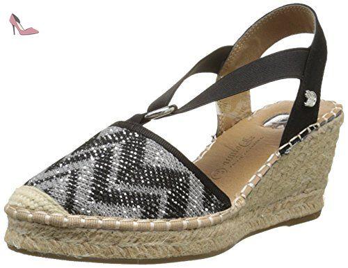 Tom Tailor 9695002, Sandales femme, Noir, 40 EU - Chaussures tom tailor (*Partner-Link)