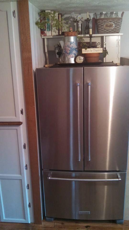 Refrigerator Top Decor Fridge Kitchen