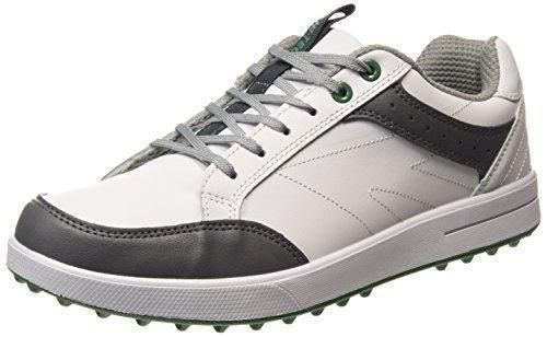 Oferta: 58.15€ Dto: -30%. Comprar Ofertas de Hi-Tec Ht Combi Sneaker - Zapatos de Golf Hombre, Blanco (White/Grey/Green 011), 42 EU barato. ¡Mira las ofertas!