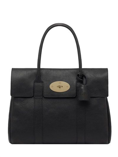 Mullberry Bayswater textured leather bag... Gorgeous, stylish, timeless... Want!