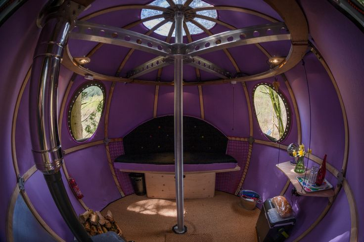 Experience luxury Glamping in the UK's first tree tent, featured on George Clarke's Amazing Spaces