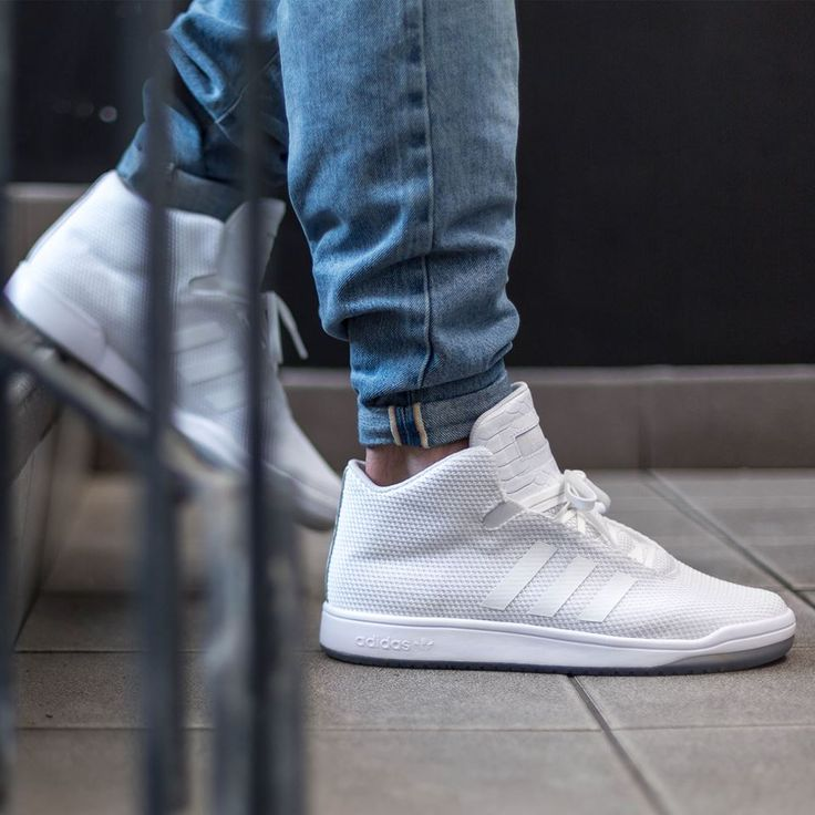 adidas Originals Veritas Mid: White. Shoes SneakersAdidas Shoes MenAddidas  ...