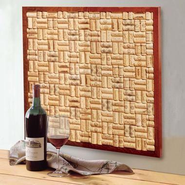 83 best Cork Bulletin Boards images on Pinterest | Wine corks, Cork ...