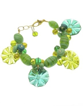 Antica Murrina bracelet. Green my beloved colour!