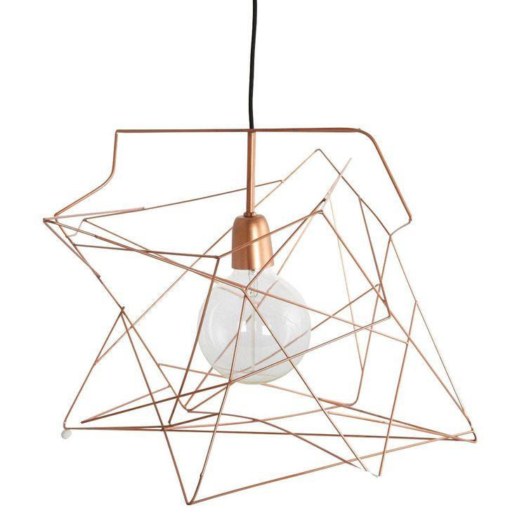 lampe kupferfarben kollektion pic der bccebbdbffffcbf copper lampshade wire pendant