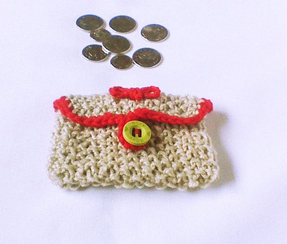 Hey, I found this really awesome Etsy listing at https://www.etsy.com/listing/184398843/beige-knit-coin-pouch-change-purse