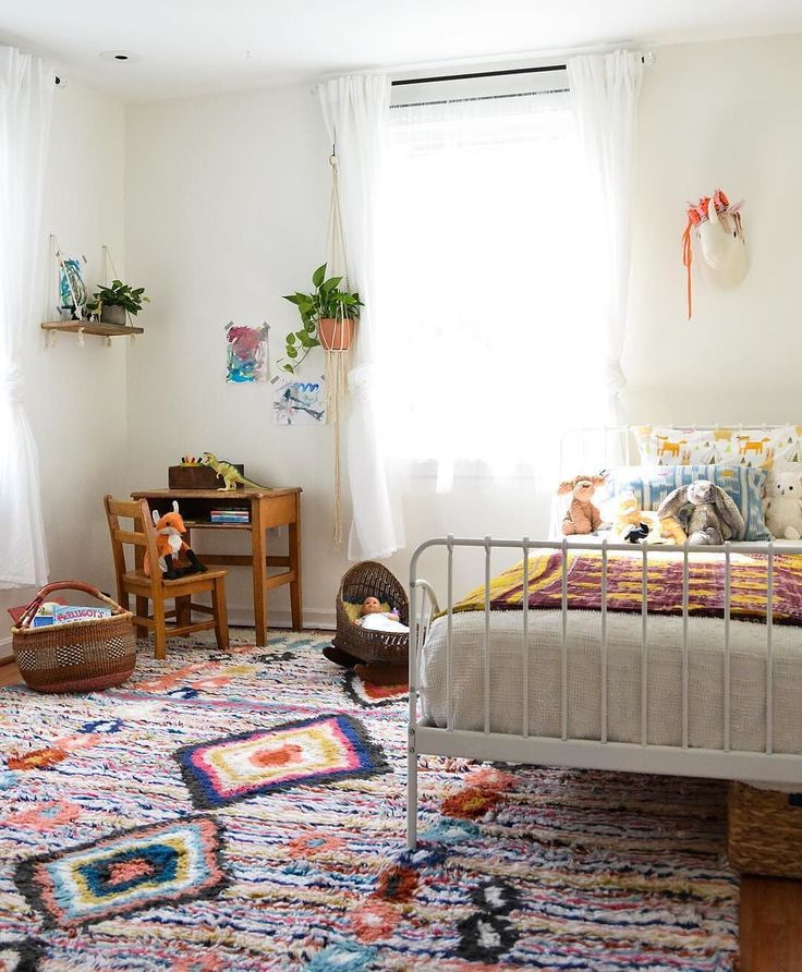Our Charm Wool Rug, Living Up To Its Name In This Cute Kidsu0027 Room At Place!