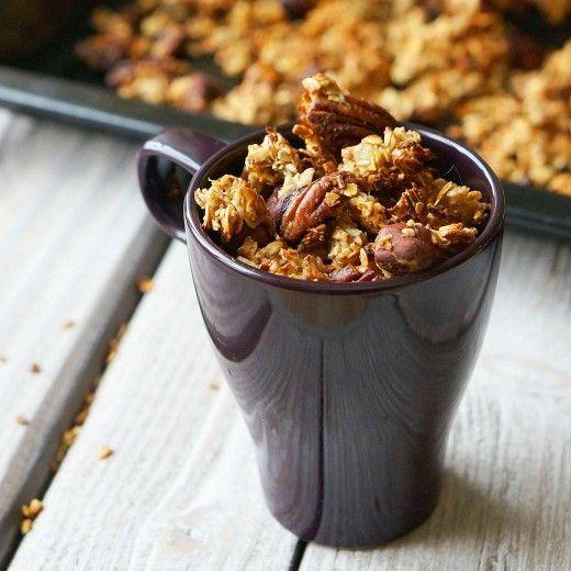 Рецепт - Домашняя гранола