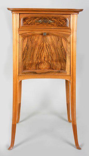 192 Eugene Gaillard Art Nouveau Night Stand Lot 192