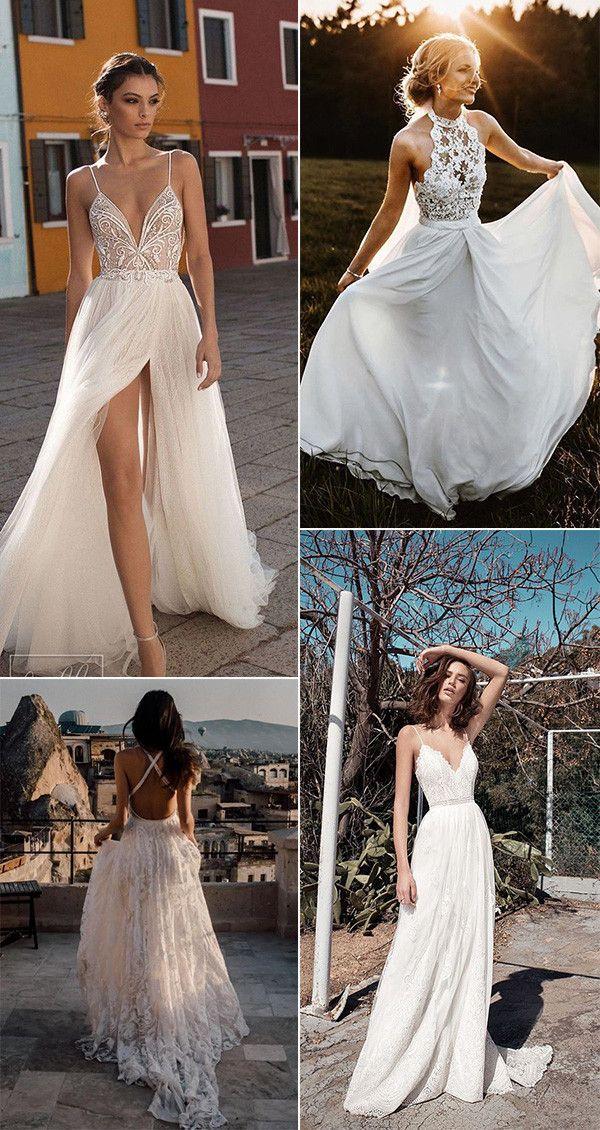 25 Stunning Beach Wedding Ideas You Can T Miss For 2021 Emmalovesweddings Beach Wedding Dress Wedding Beach Ceremony Wedding Dress Guide