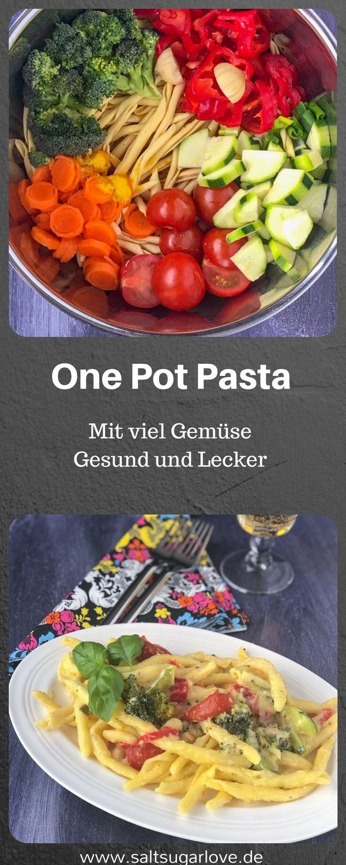 One Pot Gemüse Nudeln