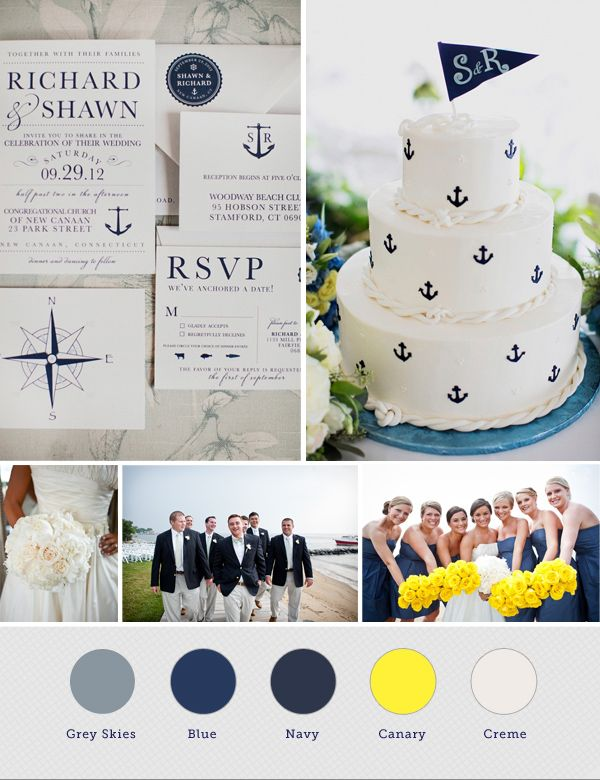 Nautical Wedding Inspiration - Annapolis Wedding Blog for the Maryland Bride