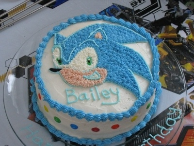 Sonic By JENKARNES on CakeCentral.com