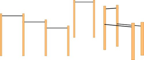 Different types of homemade diy free standing pull up bar plan options