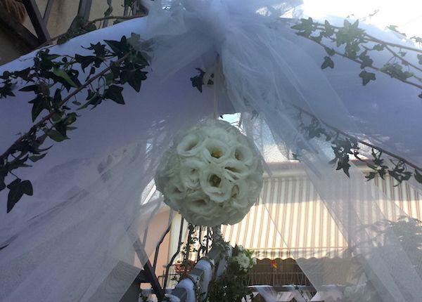 Addobbi e fiori abitazioni Sposa