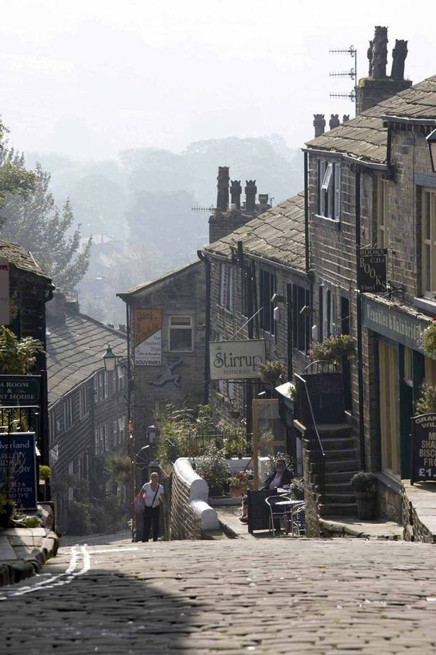 Haworth village, England, United Kingdom.