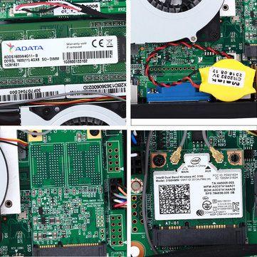 Vorke V1 Intel Braswell Celeron J3160 4G/64G SSD 802.11AC WIFI Gigabit LAN Bluetooth4.0 HDMI VGA Output USB3.0 Windows MINI PC Sale - Banggood.com