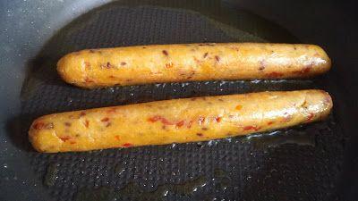 La Fée Stéphanie: Saucisses végétales au tofu, façon chorizo