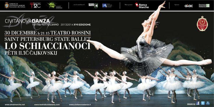 LO #SCHIACCIANOCI #favola danzata per #Auguri di #BuoneFeste.30/12 #TeatriDICIvitanova http://www.tdic.it/dettaglio.asp?id=785