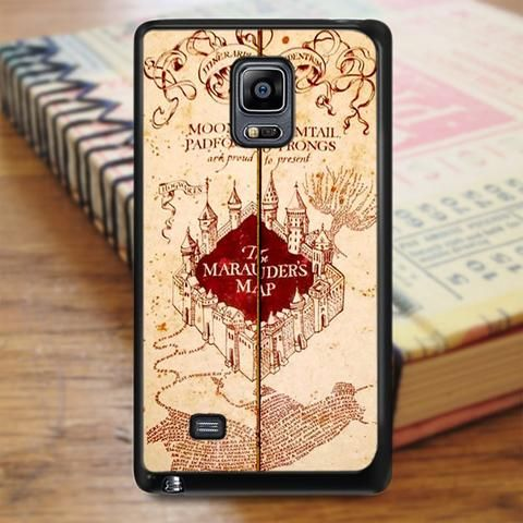 Harry Potter Inspired Marauders Map Samsung Galaxy Note 5 Case